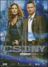 La copertina DVD di CSI: New York - Stagione 2 - Parte 1