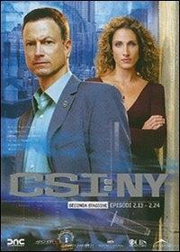 La copertina DVD di CSI: New York - Stagione 2 - Parte 2