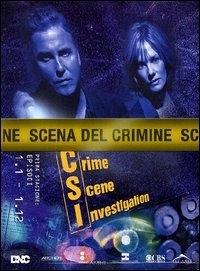 La copertina DVD di CSI - Scena del crimine - Stagione 1 - Parte 1