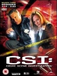 La copertina DVD di CSI - Scena del crimine - Stagione 3 - Parte 2