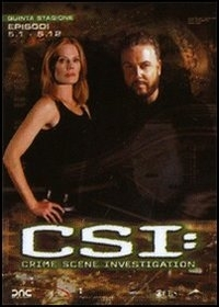 La copertina DVD di CSI - Scena del crimine - Stagione 5 - Parte 1