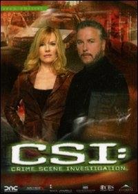La copertina DVD di CSI - Scena del crimine - Stagione 6 - Parte 1