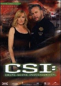 La copertina DVD di CSI - Scena del crimine - Stagione 6 - Parte 2