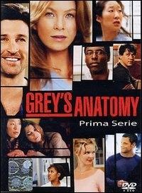 La copertina DVD di Grey's Anatomy - Stagipne 1