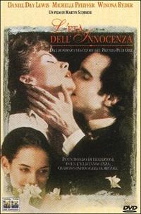 La copertina DVD di L'età dell'innocenza