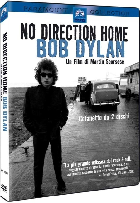 La copertina DVD di No Direction Home: Bob Dylan