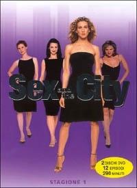 La copertina DVD di Sex and the City Stagione 1