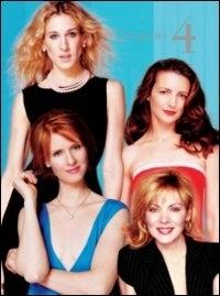 La copertina DVD di Sex and the City Stagione 4