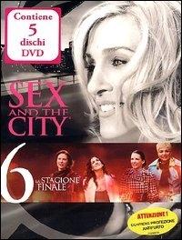 La copertina DVD di Sex and the City Stagione 6