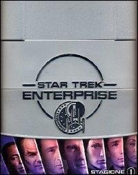 La copertina DVD di Star Trek: Enterprise - Stagione 1