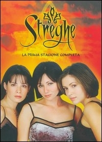 La copertina DVD di Streghe Stagione 1