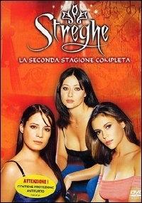 La copertina DVD di Streghe Stagione 2
