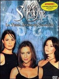 La copertina DVD di Streghe Stagione 3