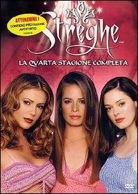 La copertina DVD di Streghe Stagione 4