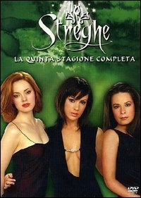 La copertina DVD di Streghe Stagione 5