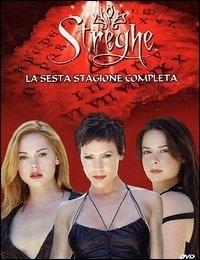 La copertina DVD di Streghe Stagione 6