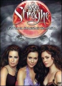 La copertina DVD di Streghe Stagione 8
