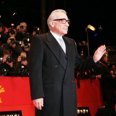 Scorsese firma sul tappeto rosso a Berlino 2008