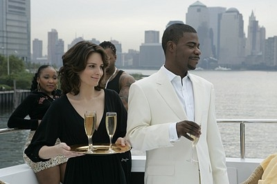 Tina Fey e Tracy Morgan nell'episodio 'The Aftermath' della prima stagione di 30 Rock
