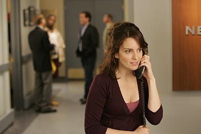 Tina Fey nell'episodio 'Seinfeldvision' della seconda stagione di 30 Rock