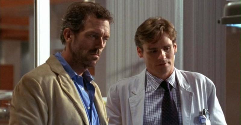 Dr House: Medical division, prima stagione - House (Hugh Laurie) e Wilson (Robert Sean Leonard) sono preoccupati per i piccoli pazienti dell'episodio 'Maternity'