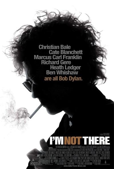 La copertina DVD di Io non sono qui