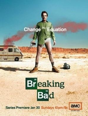 La locandina di Breaking Bad