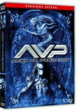 La copertina DVD di Alien Vs. Predator - Extended edition