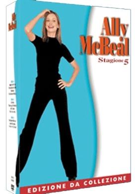 La copertina DVD di Ally Mc Beal - Stagione 5