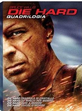 La copertina DVD di Die Hard - La Quadrilogia