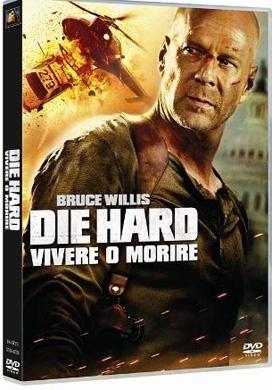 La copertina DVD di Die Hard - Vivere o morire