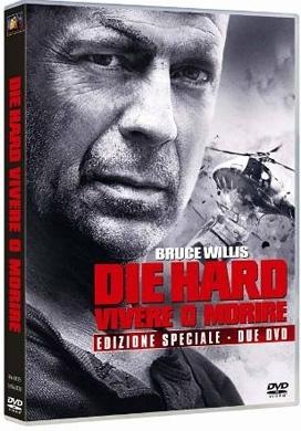 La copertina DVD di Die Hard - Vivere o morire - Edizione speciale
