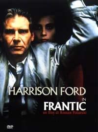 La copertina DVD di Frantic