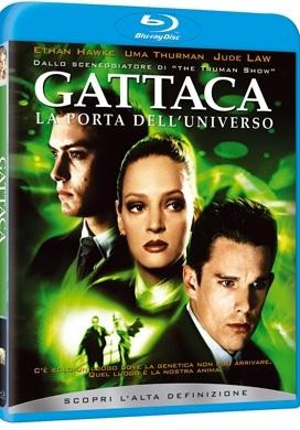 La copertina DVD di Gattaca (Blu-Ray)