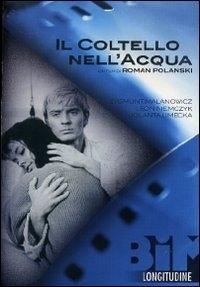 La copertina DVD di Il coltello nell'acqua