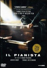 La copertina DVD di Il pianista