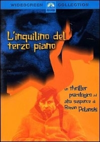 La copertina DVD di L'inquilino del terzo piano