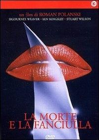 La copertina DVD di La morte e la fanciulla