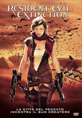 La copertina DVD di Resident Evil: Extinction