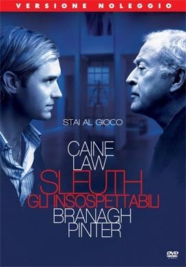 La copertina DVD di Sleuth - Gli insospettabili