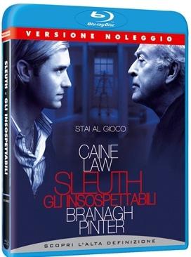 La copertina DVD di Sleuth - Gli insospettabili (Blu-Ray)