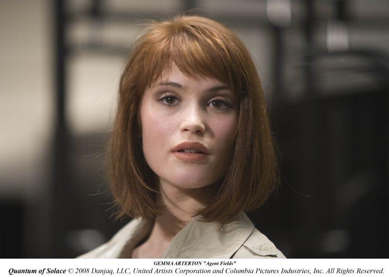 Gemma Arterton in una delle prime immagini del film Quantum of Solace