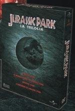 La copertina DVD di Cofanetto Jurassic Park La Trilogia - Limited Edition