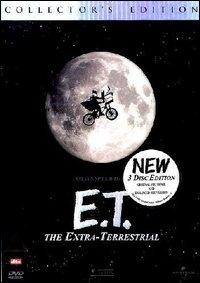 La copertina DVD di E.T. l'extra-terrestre - Collector's Edition
