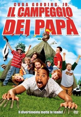 La copertina DVD di Il campeggio dei papà