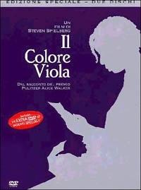 La copertina DVD di Il Colore Viola - Edizione Speciale