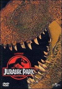 La copertina DVD di Jurassic Park