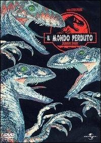 La copertina DVD di Jurassic Park - Il Mondo Perduto