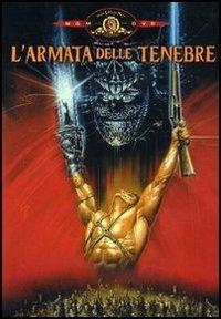 La copertina DVD di L'armata delle tenebre
