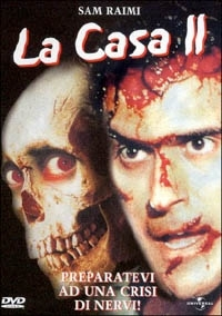 La copertina DVD di La Casa 2